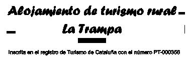 Casa Rural La Trampa – Casa rural en Tarragona